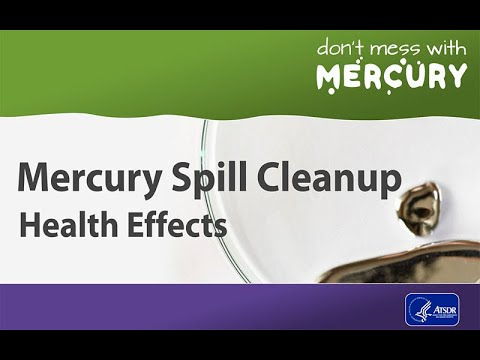 Mercury Spill Cleanup - Health Effects