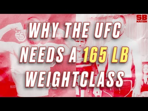 Why The UFC Needs A 165 Lb Weight Class: Fixing The UFC