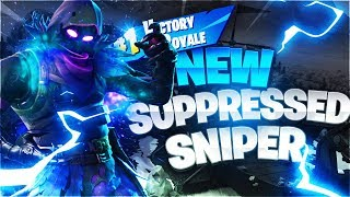 🔴 NEW Suppressed Sniper Rifle IN FORTNITE | So close to 13k and giveaway at 13k!!!