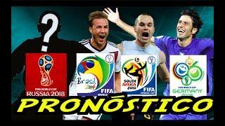 Los pronosticos para el Mundial de Rusia 2018