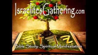 Israelites Gathering Bible Study: Spiritual Manifestation -  (7-28-15)