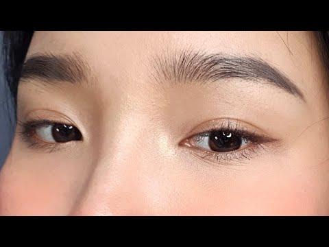 Cách kẻ Eyeliner cho mắt 1 mí lót , 2 mí nhỏ – Eyeliner for Beginers