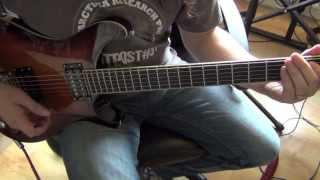 PRS SE Mike Mushok Baritone Guitar Demo