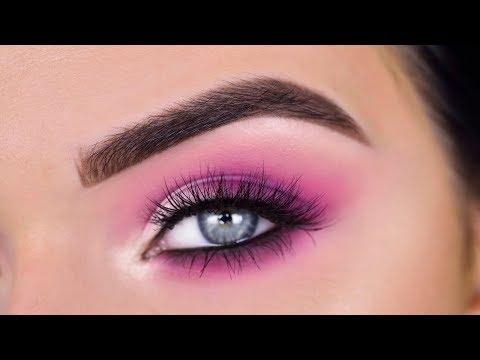Morphe X James Charles Palette | Pink Valentines Eye Makeup Tutorial