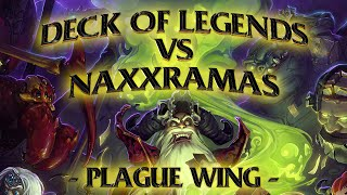Hearthstone: Deck of Legends vs Naxxramas Plague Wing