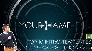 Top 10 Intro templates For Camtasia studio 9 or 8