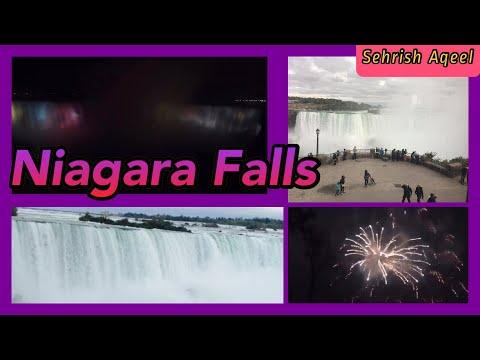My Canada Niagara Falls Trip    Pennsylvania To Niagara Falls Way & Beautiful View