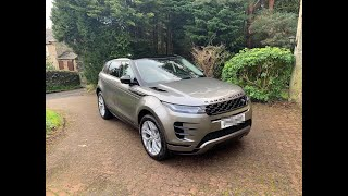 The new 2019 Range Rover Evoque collection Day