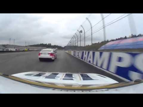 Brad Keselowski 2014 Sylvania 300 onboard last half from New Hampshire Motor Speedway