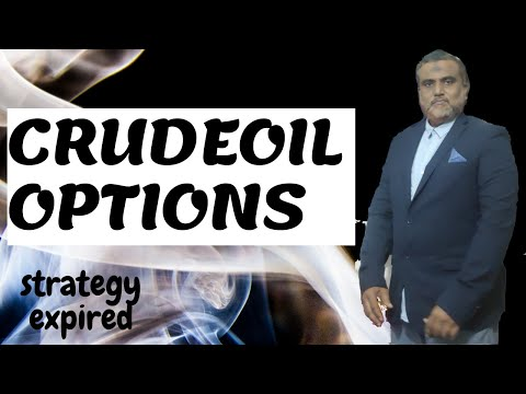 Crude oil option trading