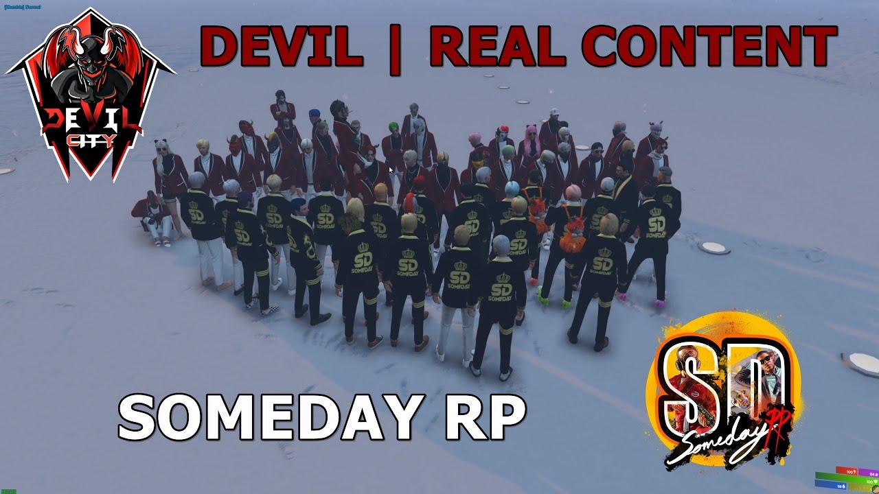 GTAV : SV.SOMEDAY : SOMEDAY vs DEVIL : ต่อยหยงฉุน 25 - 25 !!