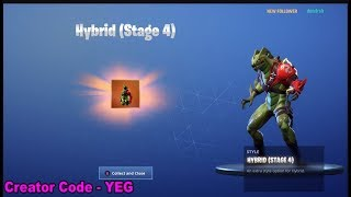*NEW* UNLOCKING HYBRID (STAGE 4) on Fortnite Battle Royale Season 8