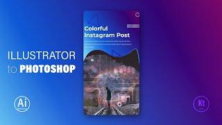 Illustrator'den Photoshop'a Aktarma - How to Illustrator to Photoshop