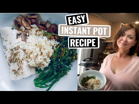 INSTANT POT Brown Rice & Fish | Whats for Dinner VAN Cooking