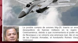 Costa Rica y Honduras cuestionan compra de aviones caza para el ejército de Nicaragua
