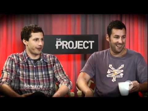 That's My Boy interview on The Project (2012) - Adam Sandler & Andy Samberg