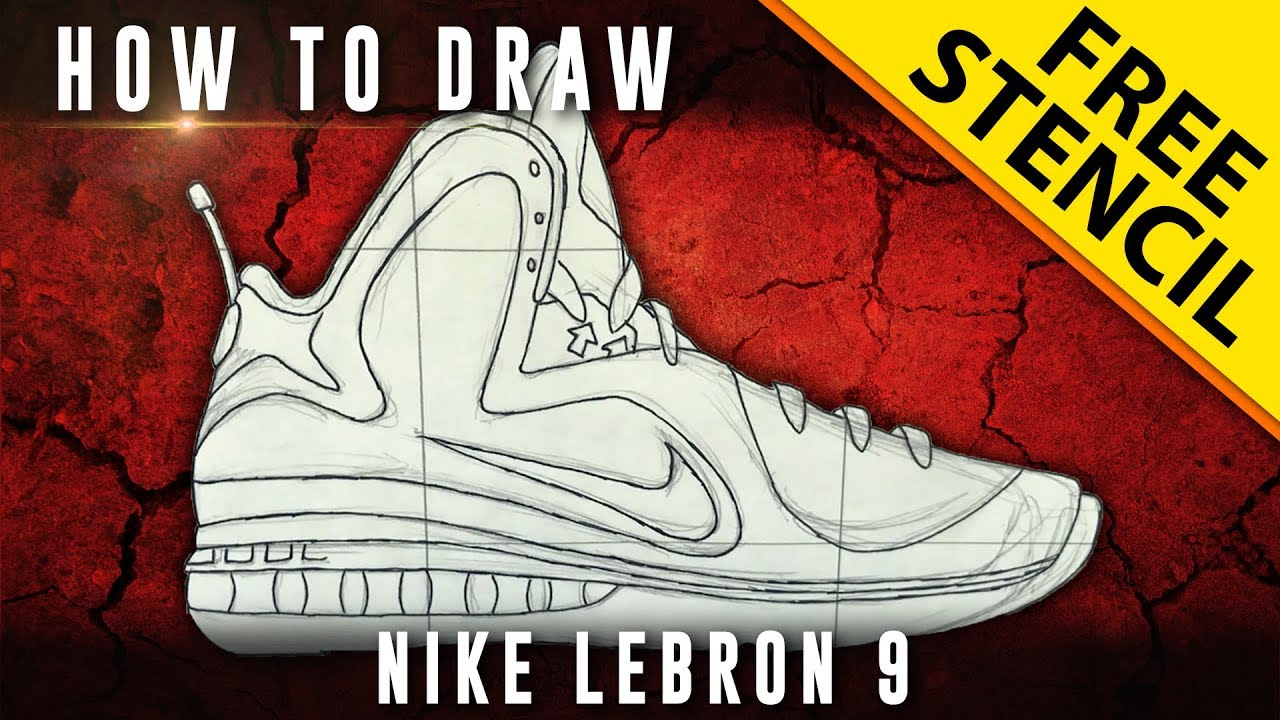 2019 year for lady- Shoe Lebron drawings pictures