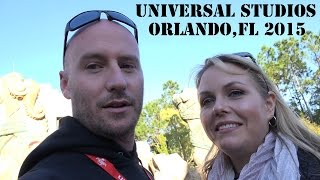 Universal Studios 2015 Orlando Florida