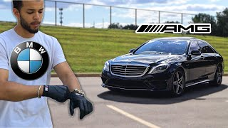 Crazy BMW Driver Drives A Mercedes AMG FAST (PART 2)