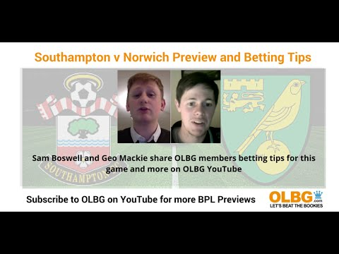 Premier League Betting Tips Southampton v Norwich City & Swansea City v Manchester United Match P...
