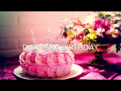 Didi Tera Birthday | K I N G | Happy Birthday Sister | Latest Hindi Songs 2018