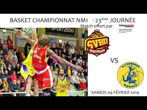2019 02 09 Basket   Championnat NM1 23ème journée   SVBD vs AUBENAS