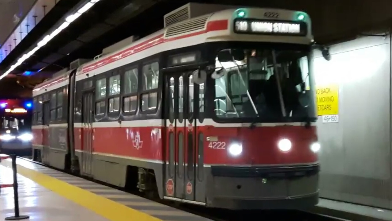yorkdale how to get to ttc buse