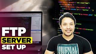 How to setup a home FTP server (Hindi)| FTP सर्वर कैसे कोन्फ़िगर करे ?