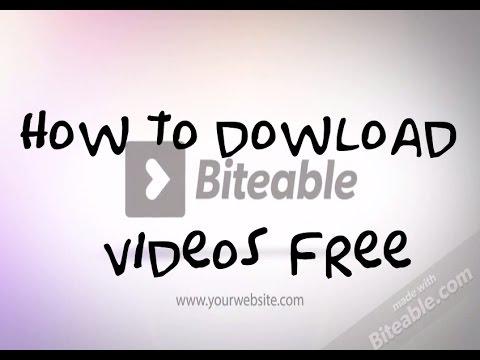 How to Download Biteable Videos without Premium Account part 1 (part 2 in description)