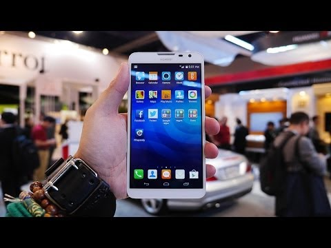 Huawei Ascend Mate 2 4G hands-on preview: video and image gallery
