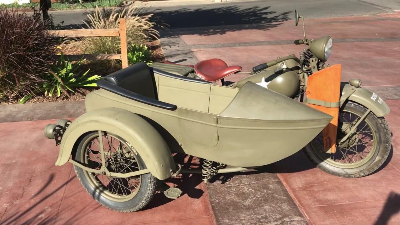 1942 Harley-Davidson WLA W/ Sidecar | T291 | Las Vegas 2019
