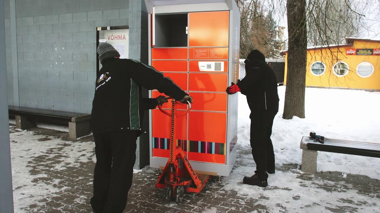 Võhma postiautomaadi avamine