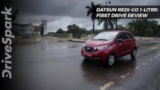 2017 Datsun redi-GO 1.0 Litre Launched In India - DriveSpark