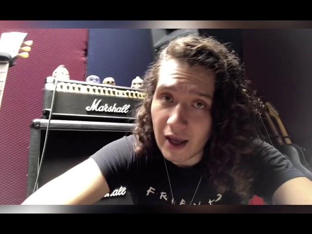 Yoss Montaño vocalista y baixista de banda Rock Tessen recado a plugmetal
