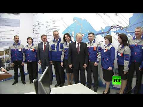 -للمرأة أولوية عند بوتين-.. موقف ملفت للرئيس الروسي مع سيدة خلال زيارته للقرم!  - 16:54-2019 / 3 / 18
