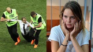 World Cup 2018: Pussy Riot members jailed for 15 days for WC final pitch invasion