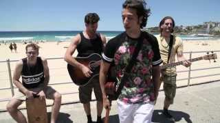 Video MAGIC! - Rude (Acoustic) Bondi Beach download MP3, 3GP, MP4, WEBM, AVI, FLV Maret 2018