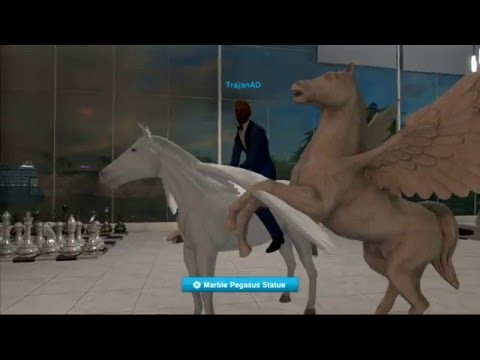 Luxury Glass House - Playstation Home - video 1