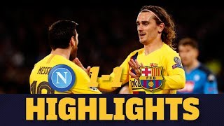 HIGHLIGHTS | Napoli 1-1 FC Barcelona