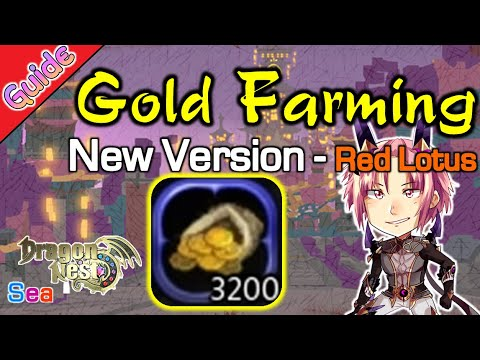 dragon nest sea gold farming guide lvl 50 queen