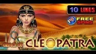 Grace Of Cleopatra - Slot Machine - 10 Lines + Bonus