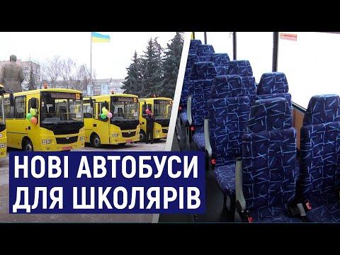 Суспільне Житомир: Школи Житомирщини отримали 16 нових автобусів марки