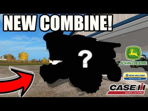 FARMING SIMULATOR 2017   OUR NEW COMBINE IS HERE...TESTING IT OUT FOR THE FIRST TIME! EP #41