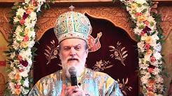 PS Vincentiu - Predica la Intrarea in Biserica a Maicii Domnului - Manastirea Chiroiu, Ialomita
