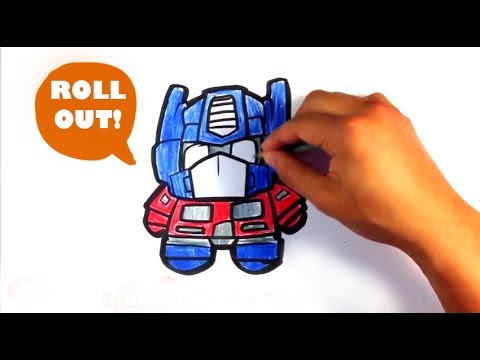 How To Draw Optimus Prime From Transformers Cute Easy Pictures