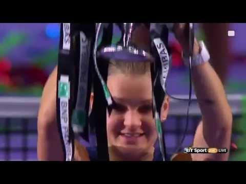 Radwanska - 2015 WTA Finals - Fight Song (Rachel Platten)