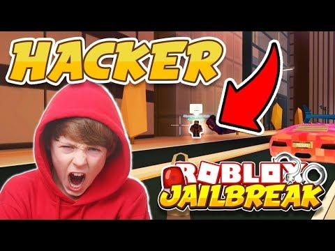 Jailbreak NOCLIP HACK Makes Me RAGE!! *COP HACKER!* (Roblox Jailbreak)