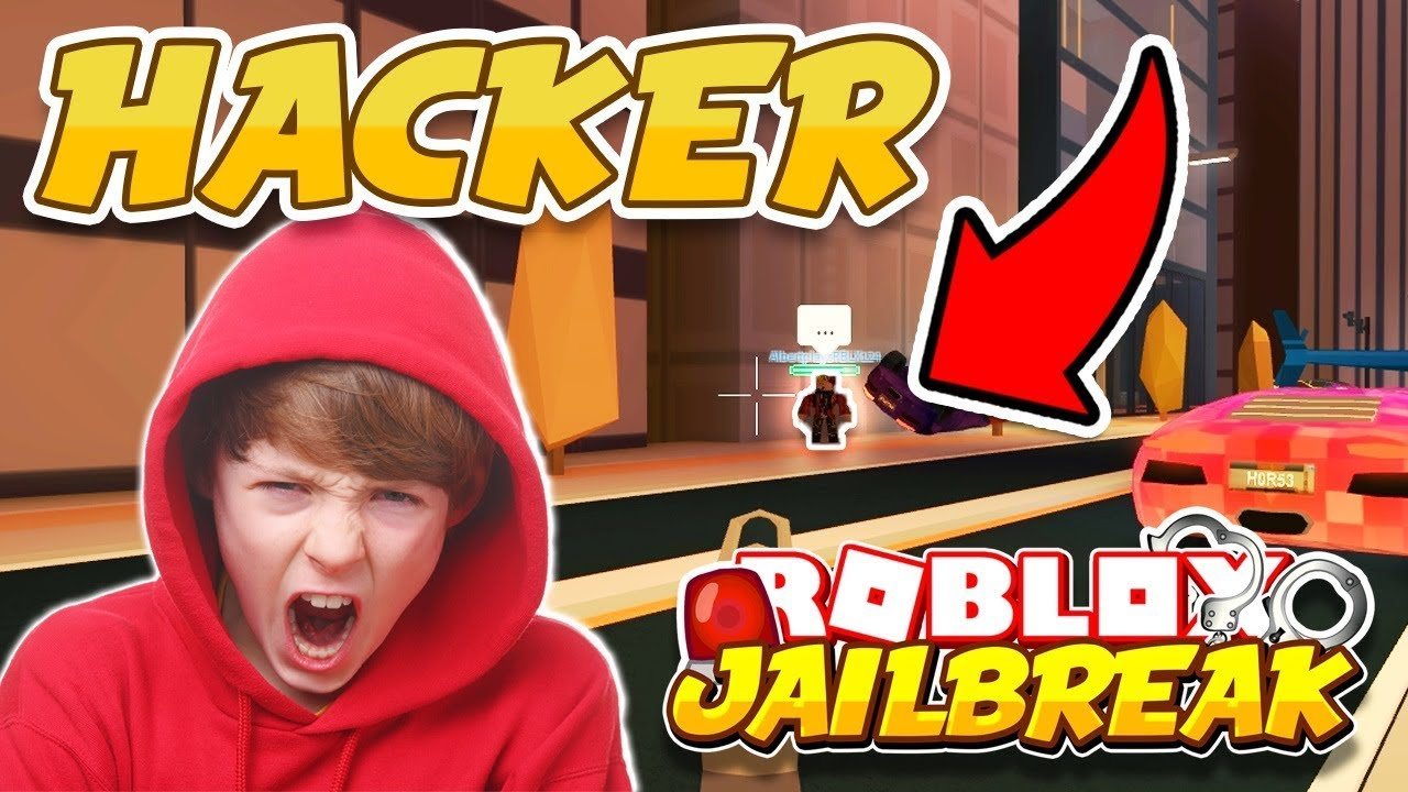 Jailbreak Noclip Hack Makes Me Rage Cop Hacker Roblox