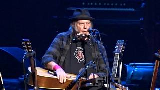 "Neil Young ""My My, Hey Hey (Out of the Blue)"" 7/12/18 Boston MA"