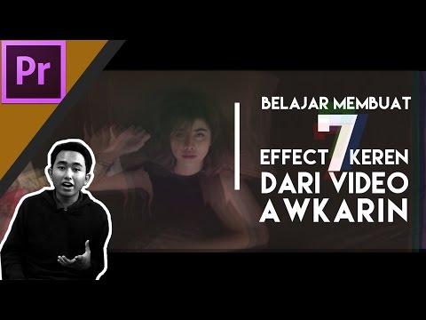Cara Membuat efek Glitch, Strobe, Dizzy seperti MV Awkarin- Candu
